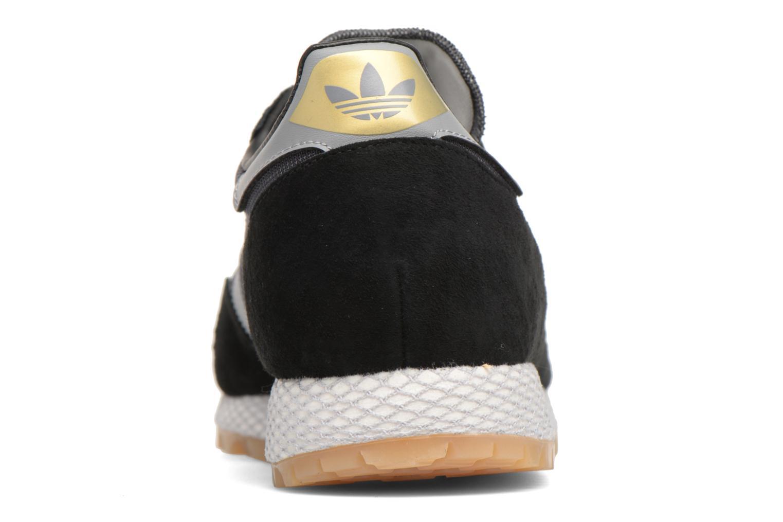 Baskets Adidas Originals New York Noir vue droite