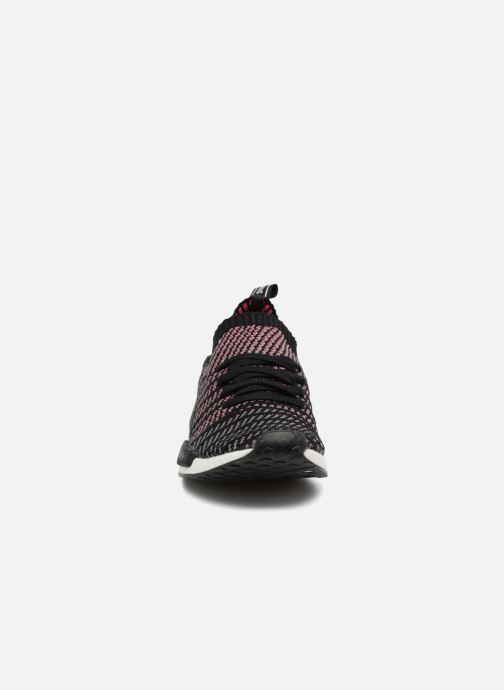 Sneakers adidas originals Nmd_R1 Stlt Pk Nero modello indossato