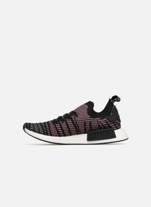 Sneaker adidas originals Nmd_R1 Stlt Pk schwarz ansicht von vorne
