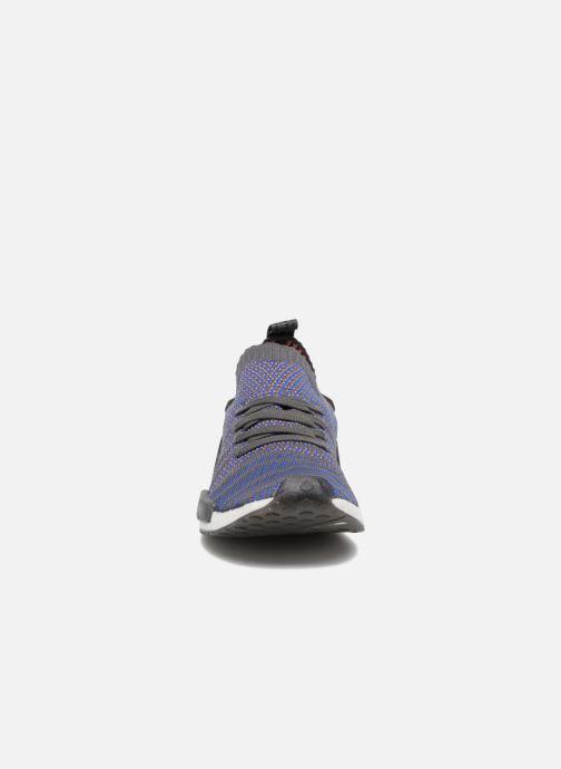 Sneaker Adidas Originals Nmd_R1 Stlt Pk blau schuhe getragen