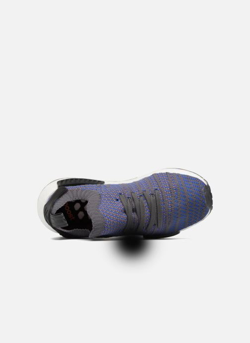 Baskets adidas originals Nmd_R1 Stlt Pk Bleu vue gauche