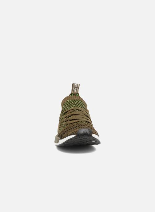 Baskets adidas originals Nmd_R1 Stlt Pk Marron vue portées chaussures