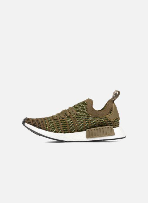 Sneakers adidas originals Nmd_R1 Stlt Pk Brun bild från framsidan
