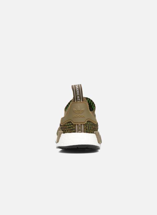 Baskets adidas originals Nmd_R1 Stlt Pk Marron vue droite