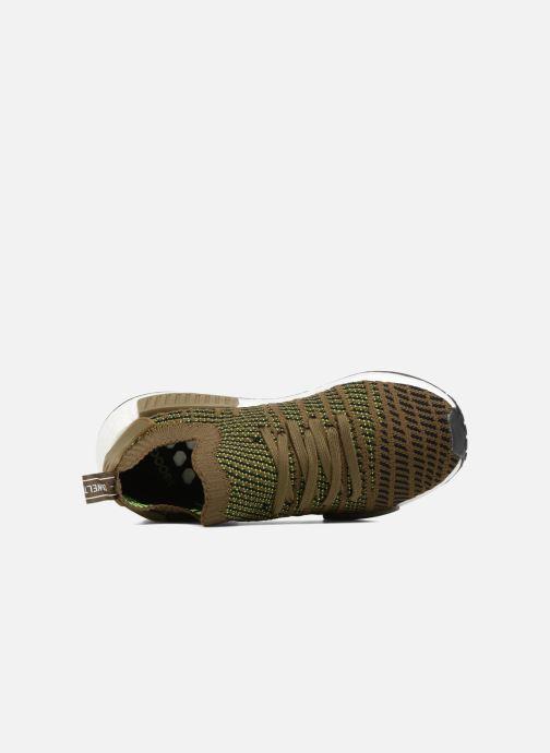 Sneakers adidas originals Nmd_R1 Stlt Pk Brun bild från vänster sidan
