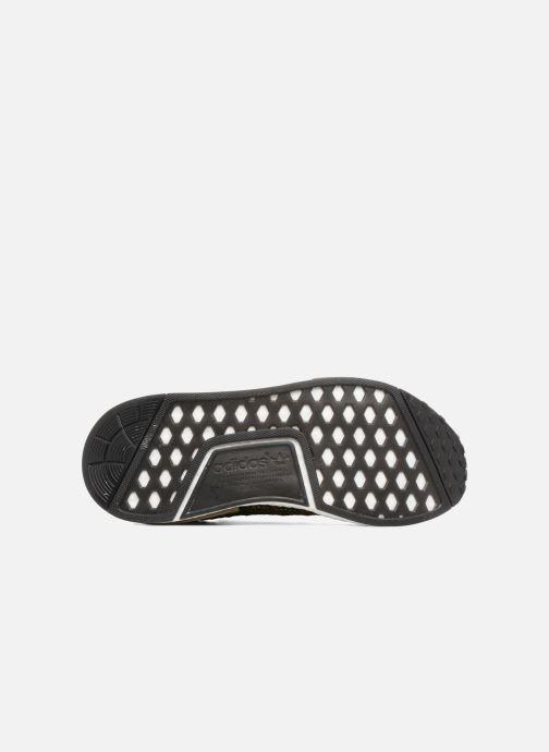 Baskets adidas originals Nmd_R1 Stlt Pk Marron vue haut