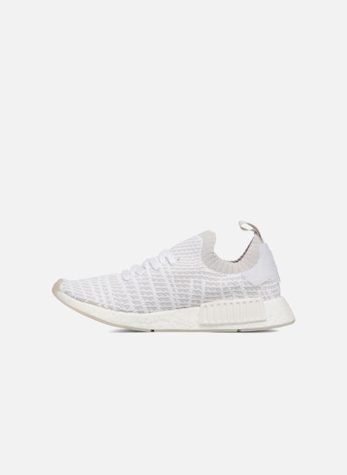 Sneakers adidas originals Nmd_R1 Stlt Pk Hvid se forfra