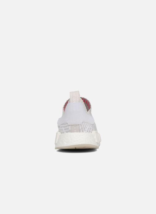 Sneakers adidas originals Nmd_R1 Stlt Pk Hvid Se fra højre