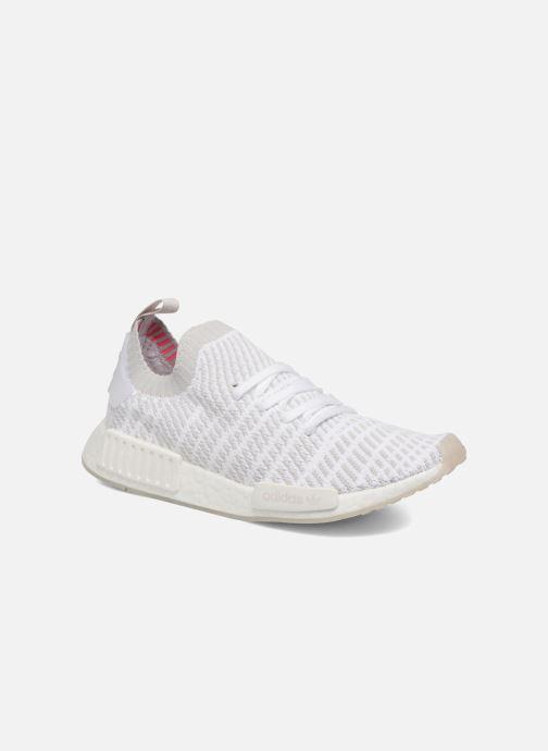 Sneakers adidas originals Nmd_R1 Stlt Pk Hvid detaljeret billede af skoene