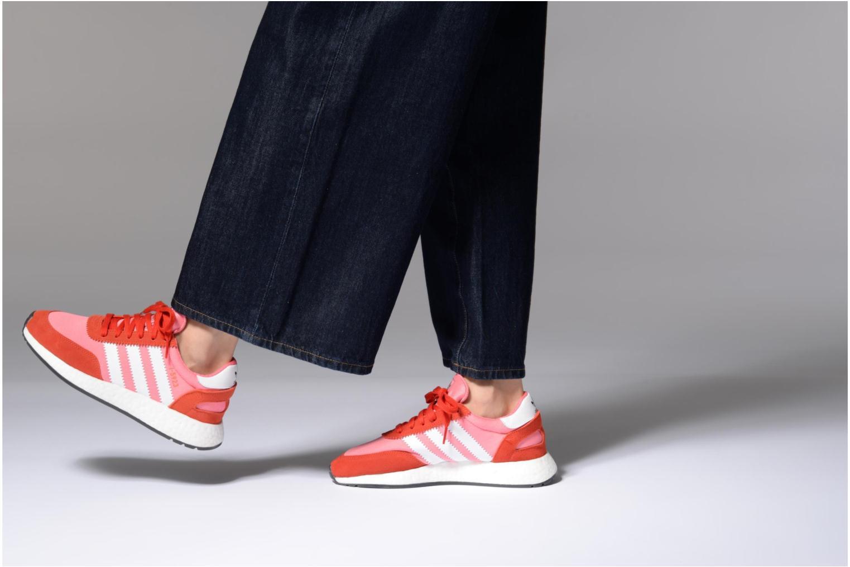 Baskets Adidas Originals I-5923 W Rose vue bas / vue portée sac