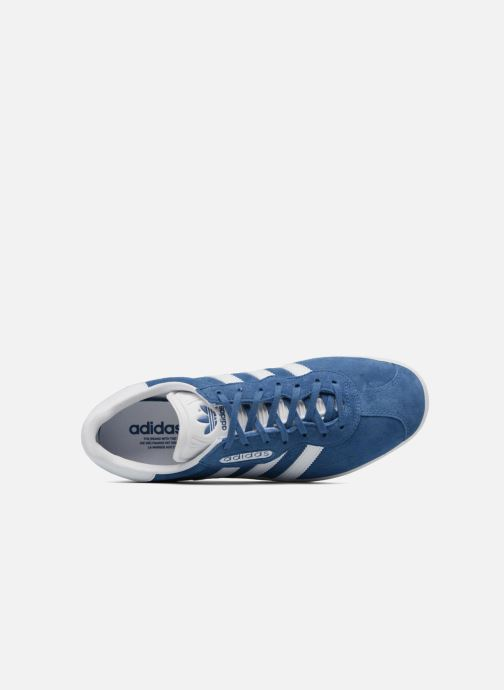 outlet store 59d2a e053e Baskets adidas originals Gazelle Super Essential Bleu vue gauche