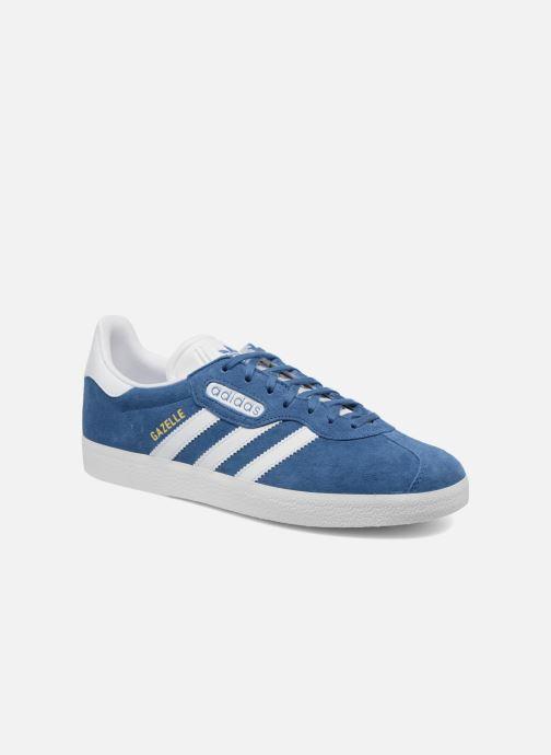 c3f495c5da Baskets adidas originals Gazelle Super Essential Bleu vue détail/paire