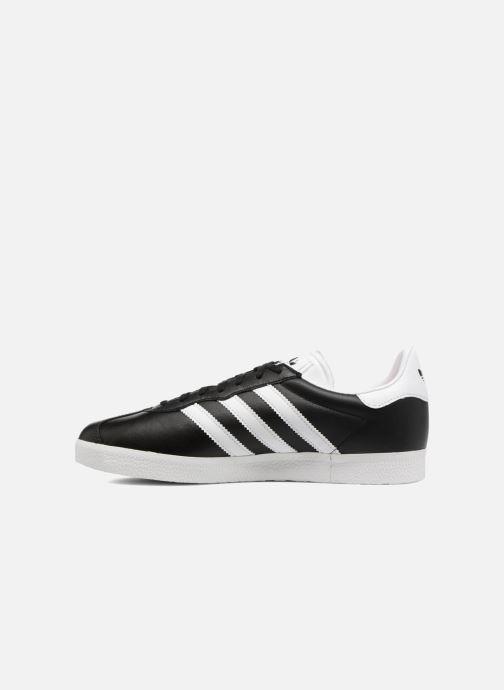 Sneaker adidas originals Gazelle Super Essential schwarz ansicht von vorne