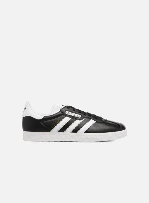Sneaker adidas originals Gazelle Super Essential schwarz ansicht von hinten