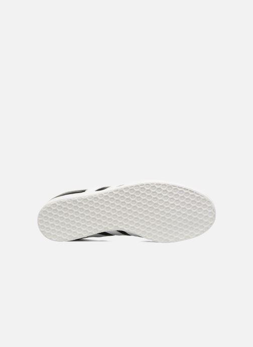 Baskets adidas originals Gazelle Super Essential Noir vue haut