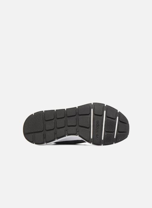 Trainers adidas originals Swift Run Pk Black view from above