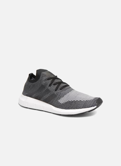 Trainers adidas originals Swift Run Pk Black detailed view/ Pair view