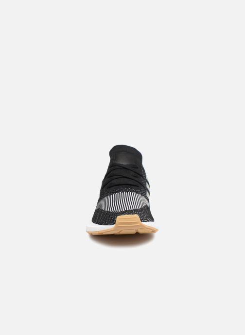 Sneaker adidas originals Swift Run Pk schwarz schuhe getragen