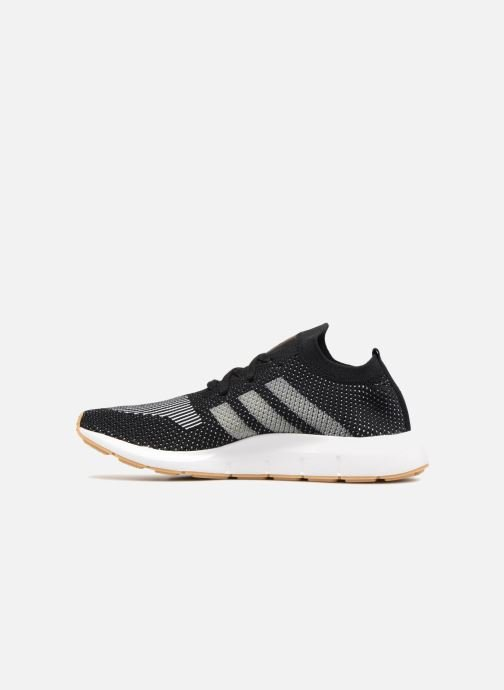 Deportivas adidas originals Swift Run Pk Negro vista de frente
