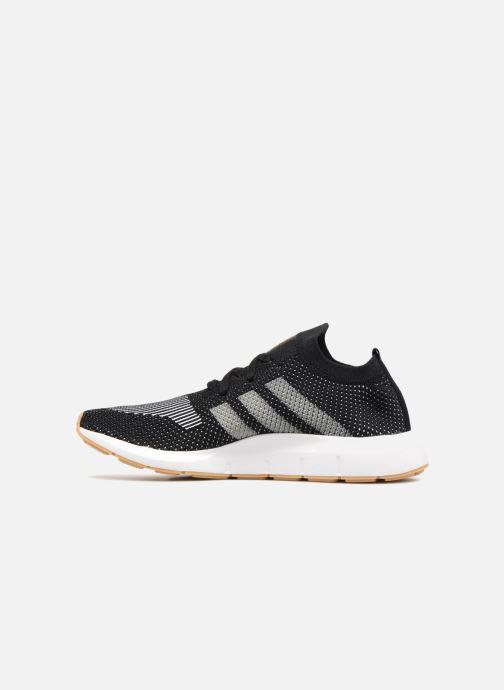 Sneaker Adidas Originals Swift Run Pk schwarz ansicht von vorne