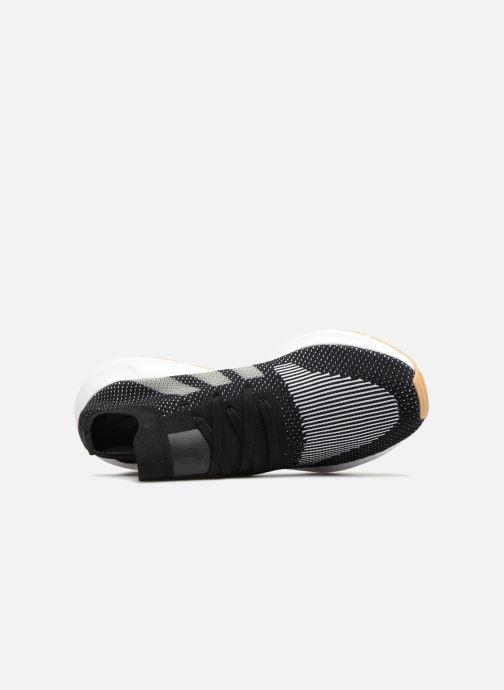 Sneaker adidas originals Swift Run Pk schwarz ansicht von links