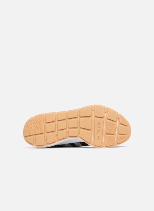 Sneaker Adidas Originals Swift Run Pk schwarz ansicht von oben