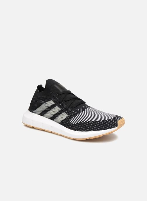 Deportivas adidas originals Swift Run Pk Negro vista de detalle / par