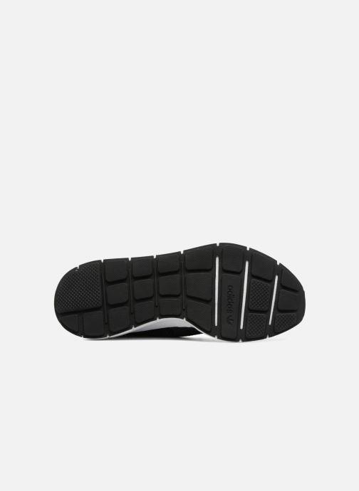 Baskets adidas originals Swift Run Pk Noir vue haut