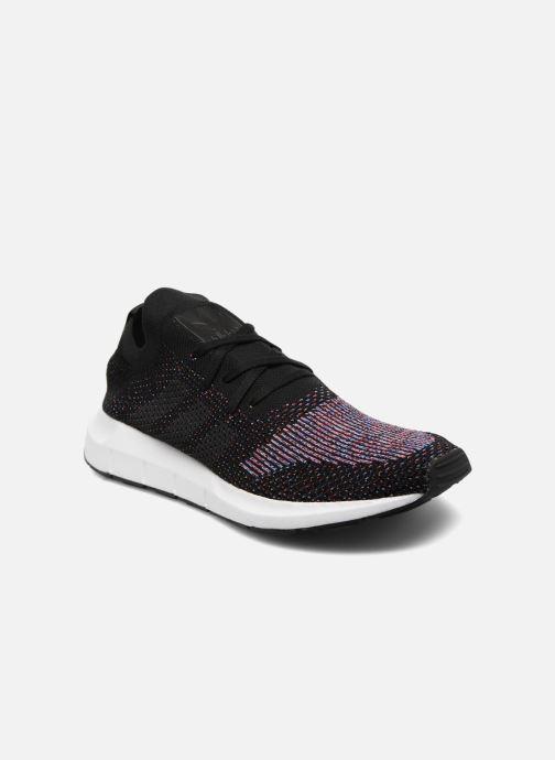 Baskets adidas originals Swift Run Pk Noir vue détail/paire