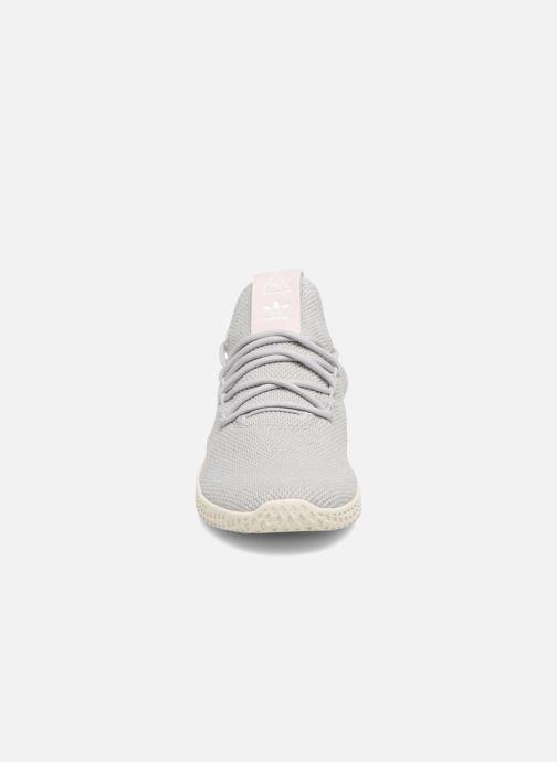 Sneaker Adidas Originals Pharrel Williams Tennis Hu W grau schuhe getragen