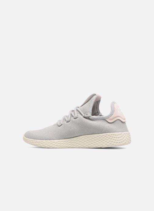 Sneaker adidas originals Pharrel Williams Tennis Hu W grau ansicht von vorne