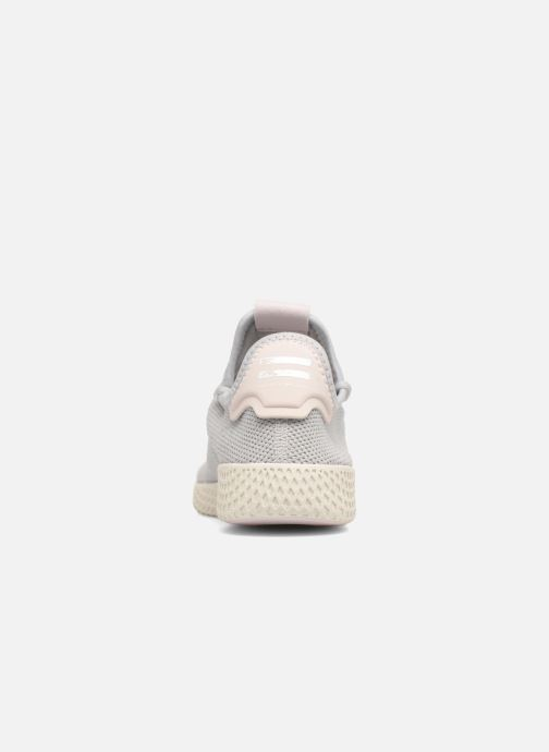 Sneaker adidas originals Pharrel Williams Tennis Hu W grau ansicht von rechts