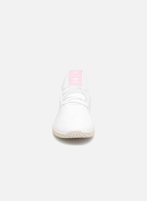 Sneaker Adidas Originals Pharrel Williams Tennis Hu W weiß schuhe getragen