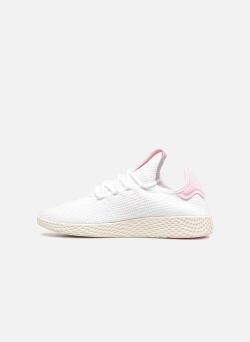 Sneaker Adidas Originals Pharrel Williams Tennis Hu W weiß ansicht von vorne
