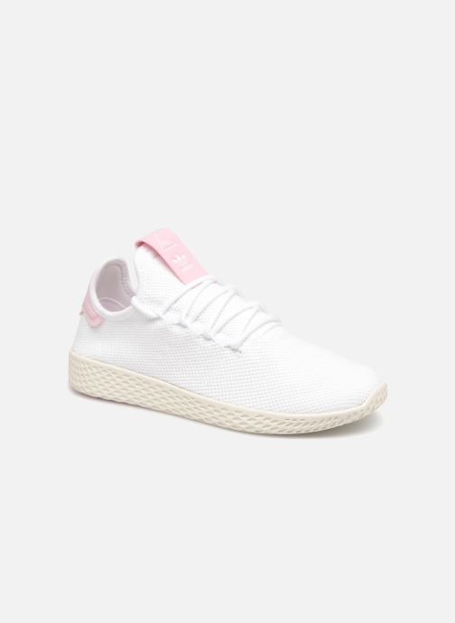 Sneaker Adidas Originals Pharrel Williams Tennis Hu W weiß detaillierte ansicht/modell