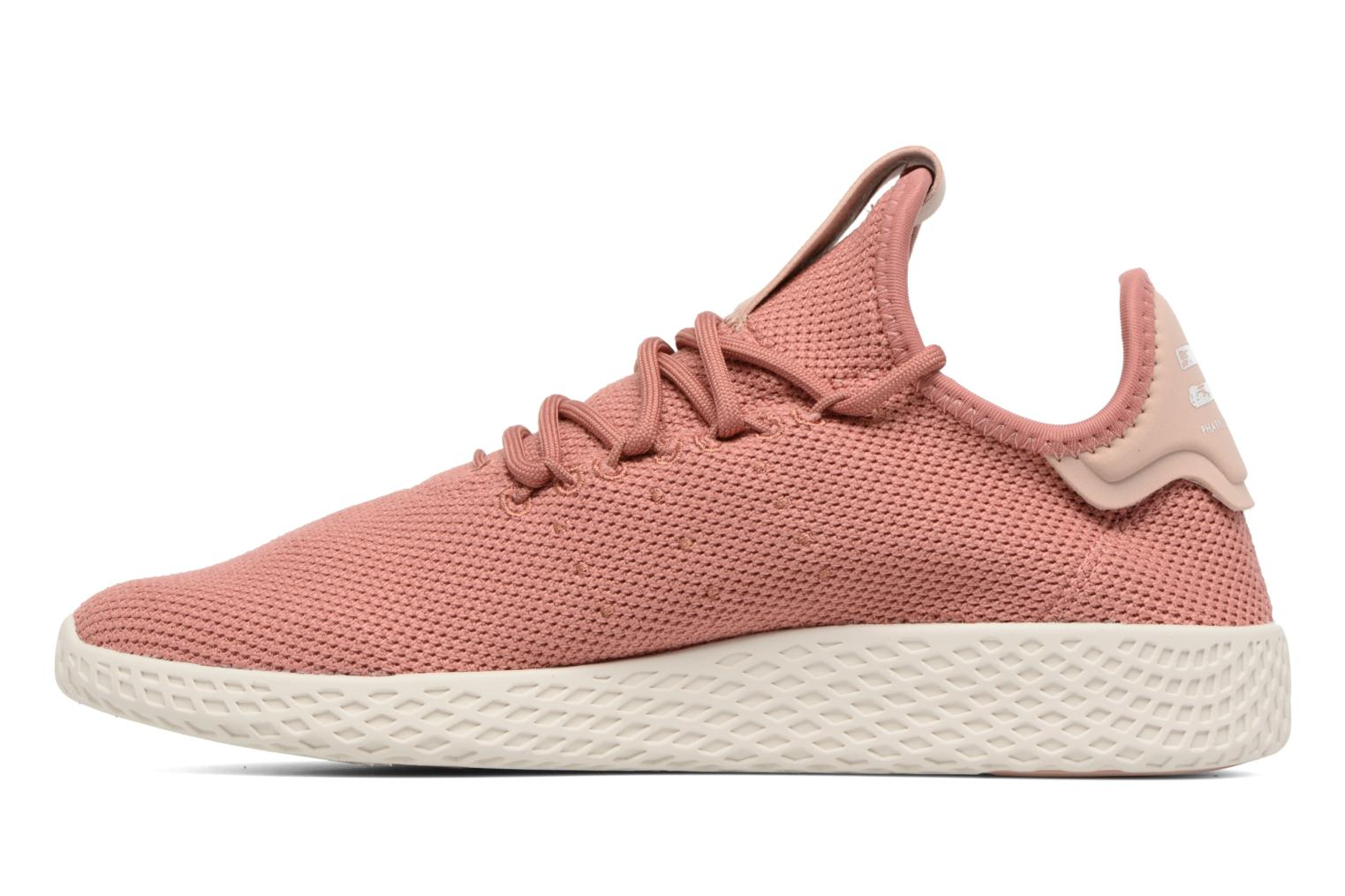 Baskets Adidas Originals Pharrel Williams Tennis Hu W Rose vue face