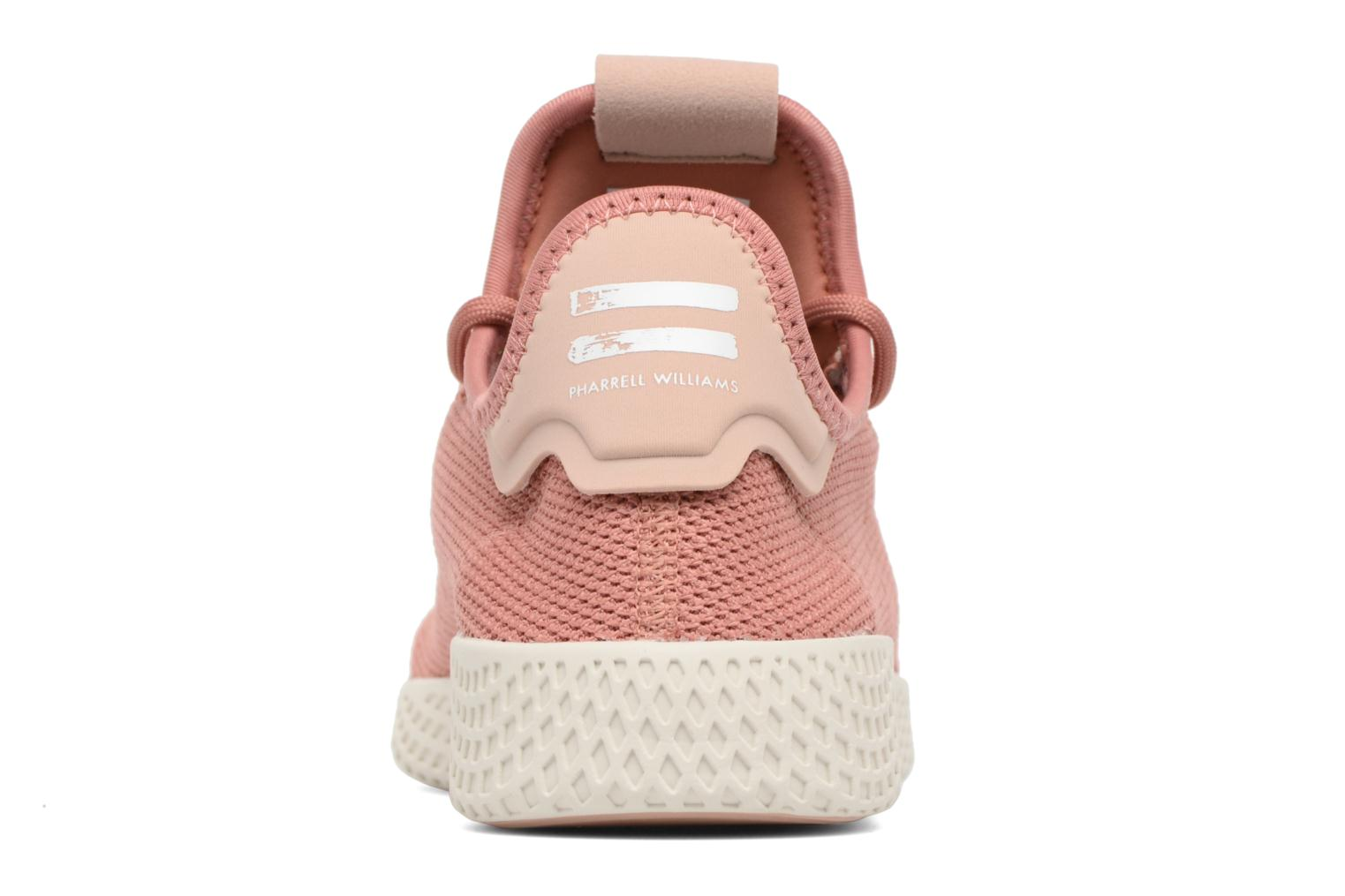 Baskets Adidas Originals Pharrel Williams Tennis Hu W Rose vue droite