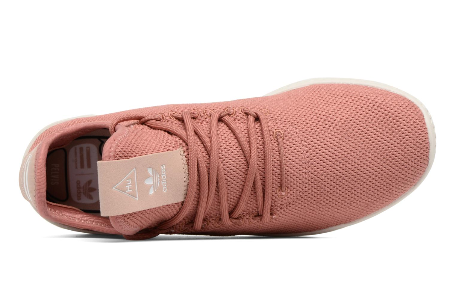 Baskets Adidas Originals Pharrel Williams Tennis Hu W Rose vue gauche