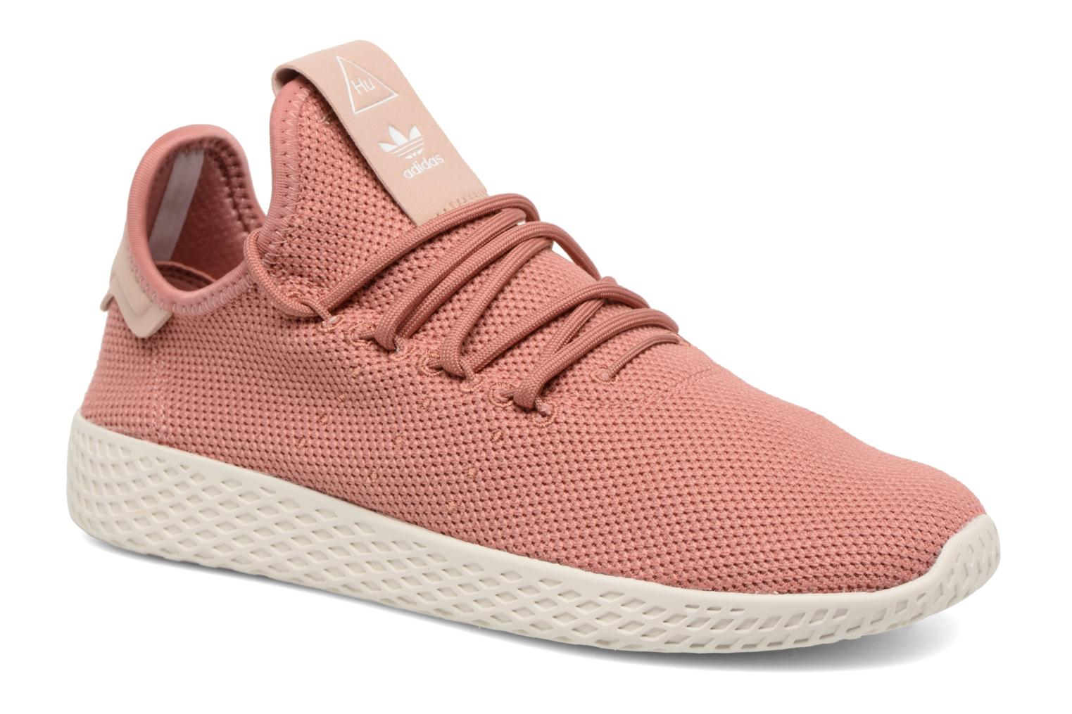 Baskets Adidas Originals Pharrel Williams Tennis Hu W Rose vue détail/paire