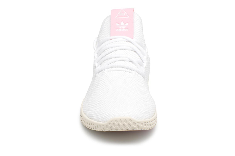 Sneaker Adidas Originals Pharrel Williams Tennis Hu W weiß schuhe getragen