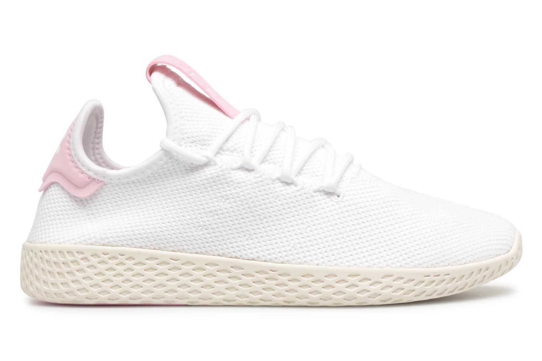 Sneaker Adidas Originals Pharrel Williams Tennis Hu W weiß ansicht von hinten