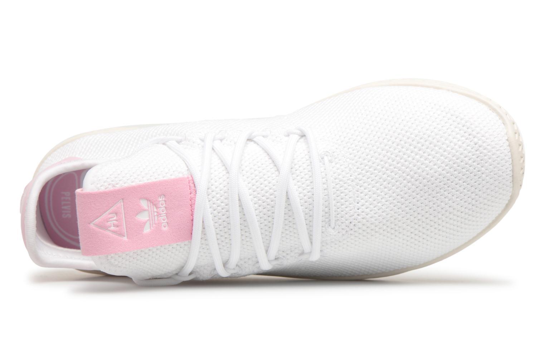 Sneaker Adidas Originals Pharrel Williams Tennis Hu W weiß ansicht von links