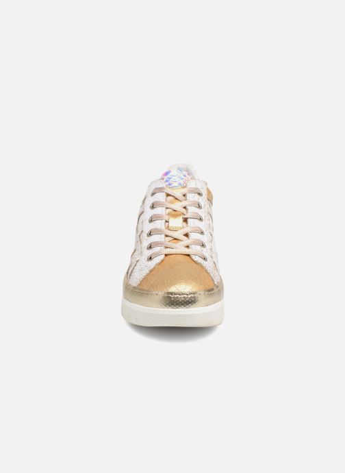 Baskets Khrio Bianca Blanc vue portées chaussures
