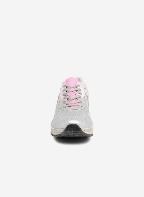Baskets Khrio Estrela Argent vue portées chaussures