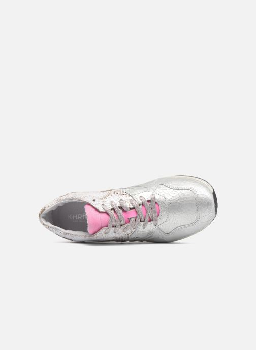 Trainers Khrio Estrela Silver view from the left