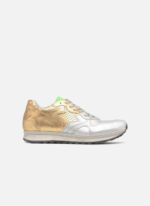 Trainers Khrio Estrela Bronze and Gold back view