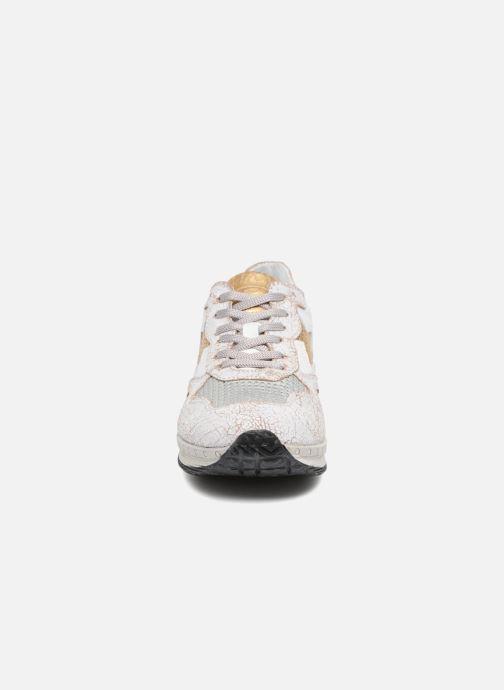 Baskets Khrio Caterina Blanc vue portées chaussures