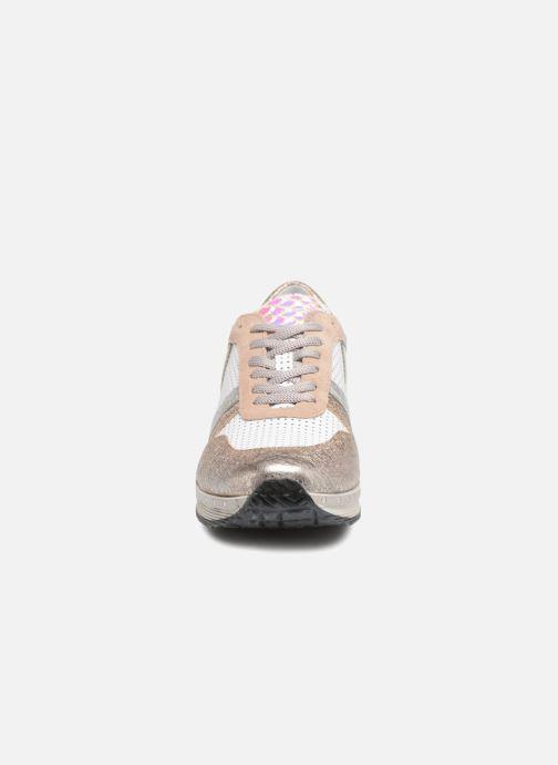 Baskets Khrio Antonia Or et bronze vue portées chaussures