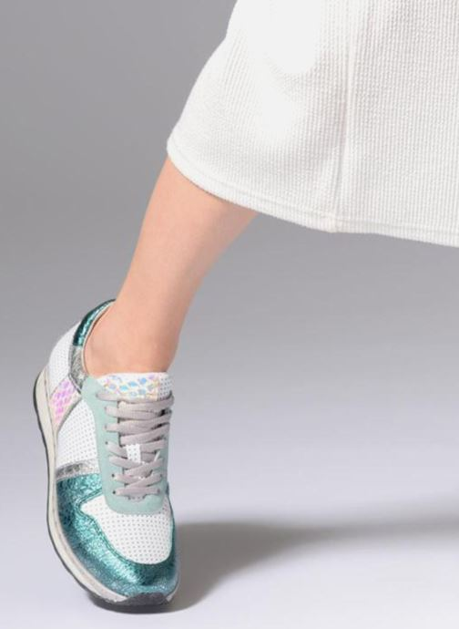 Trainers Khrio Antonia Green view from underneath / model view