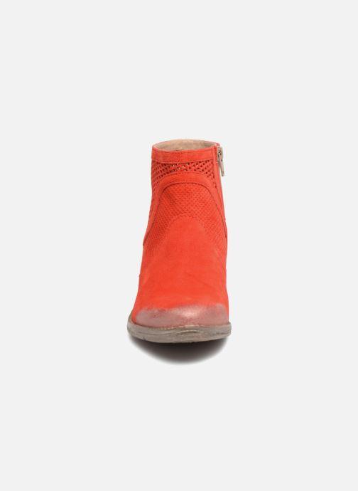 Bottines et boots Khrio Lucia Rouge vue portées chaussures